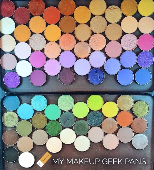 5 things I love about Makeup Geek – My Collection